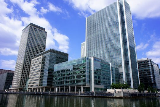Deutsche Banks BMS in London installed by SCIBMS