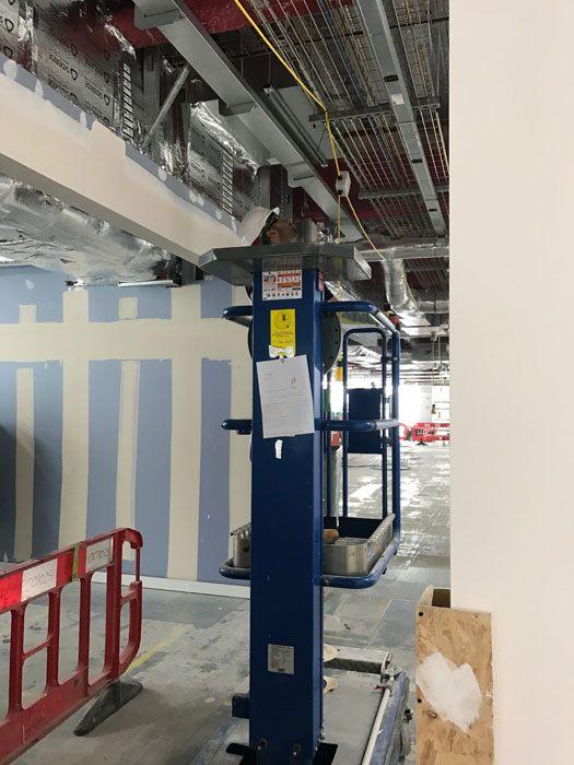 Deutsche Bank SCIBMS design and installation London
