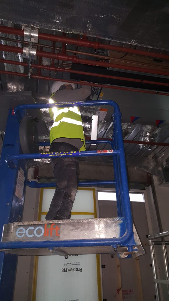 Garrard House SCI BMS installation
